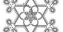 Crochet snowflakes / Crochet Patterns and charts
