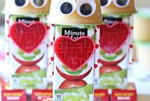 Valentine's Day Snacks / Fun and simple snack ideas for valentines day!