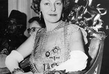 Mountbatten, Edwina / The royal gigolo: Edwina Mountbatten sued over claims of an affair with black singer Paul Robeson. But the truth was even more outrageous... By MICHAEL THORNTON 14 November 2008 in The Daily Mail  http://www.dailymail.co.uk/femail/article-1085883/The-royal-gigolo-Edwina-Mountbatten-sued-claims-affair-black-singer-Paul-Robeson-But-truth-outrageous-.html#axzz2KVz9n047