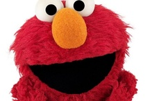 Sesame Street / Elmo, Big Bird, Cookie Monster and all the fun characters of Sesame Street. #PBS