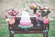 Cake Table / Traditional, unique and classic cake table designs to customize your day your way.