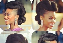 Going back to my ROOTS :)! / I am currently growing my Afro, and will be doing a few of these Hairstyles soon