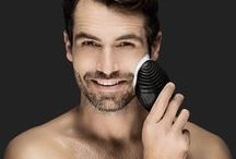 LUNA for MEN Range / FOREO announce the LUNA™ for MEN skincare device, delivering an ALL-IN-ONE solution for proper skincare and shaving preparation.