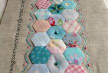 Quilts, Patchwork, FMQ
