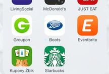 Listonic and other mobile apps / Listonic shopping list and other mobile apps in mobile food business.