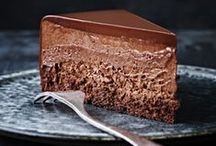 Chocolate / Best chocolate desserts, cookies & cakes. Plus, yummy hot chocolate recipes.