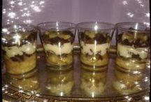 Desserts en verrines
