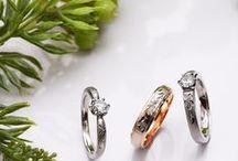 直営工房:輪・館林工房から指輪の画像が届きました。 / 館林工房スタッフが撮影した輪ーRIN-の結婚指輪。