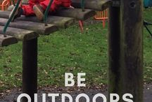 Kids Activity ~ Outdoors / Exploring ways to play with your baby, toddler or pre-schooler outdoors. Playing outside is free these activities just help build on all the fun!