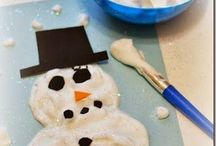 Kids Activity ~ Winter / Fun winter themed activities for babies, toddlers and preschoolers indoor or outdoor play
