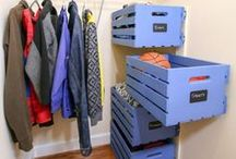 Home Storage Ideas / Great ideas for all kinds of storage in your home