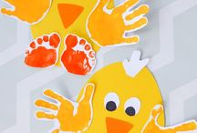 Easter Activity / Everything Easter! Chicken craft, Bunny jumping, Egg painting.  Festive activities based around Easter time for Toddlers and pre-school children.