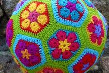 Makes ~ Crochet / Eveything crochet - how to crochet - crochet ideas - learn to crochet - crochet presents and more