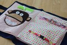 Quiet book / Idée de cadeau Petit chou/ Roxanne On a trois mois devant nous :)