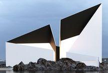 TOUT SIMPLE & PURE ARCHITECTURE / CONTEMPORAINE / by Liliane de Kerangal