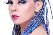 Trenzas Valkyrias..Colorfull / Interesadas en algún peinado, contáctate al cel: 55 8566 6109, por este medio o por facebook: /trenzas.valkyrias