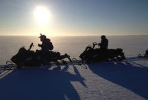 Snowmobile Expeditions:  In the middle of Snowhere / There is no end to the adventures if only we seek them with our eyes open. Wide selection of very special tours in real Lapland: Northern Finland, Sweden and Russia.