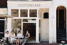 FOOD & places / + Nice spots for coffee, lunch or dinner +