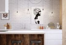 Kitchens / Polished, creative and stylish kitchens