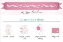 Wedding Planning Tips / Things to think about when planning your wedding!