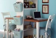 Organization and a Homey Home / The joy of being able to find things. / by Cheri Mullins