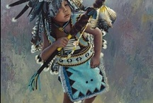 ✿ NATIVE AMERICAN AND NATIVE ART ✿ / by Annie Cawley