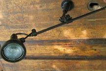Lighting / Vintage, antique, and industrial lamps repurposed and reconfigured for your home
