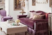 Living rooms / Wohnen und Einrichten von Lebensräumen & Wohnzimmern