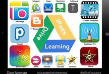 Pedpadda / Pedagogiska appar för barn. Främst olika verktyg för att söka, bearbeta och presentera undersökningar. Dessutom riktar denna bord in sig på appar för So på högstadiet.  Apparna är inte alltid prövade!  #svapplista