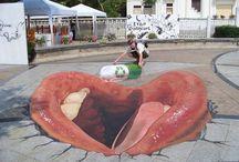 Street art / Art dans la rue