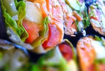 Healthy Appetizers / All things yummy to share.