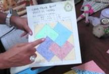 patchwork y quilt tutoriales / by Paloma Isabel Perez Pizarro