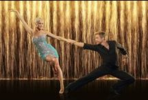 Derek Hough and DWTS Partners Title Shoot Pictures