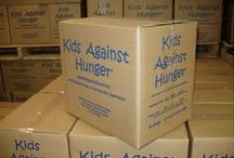 Kids Against Hunger Chapel Offering Project / This is the first year (2013-14)we did this service project.  We spent most of the school year gathering chapel offerings, which totaled over $1400.00.  We then went to Wyneken and packed food with Central Lutheran.  We were able to package more than 10,000 meals that morning.  What a great servant event