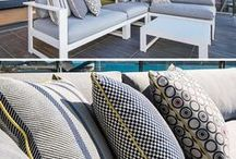 Outdoor / multipurpose collections / Fabulous designs suitable for outdoor and indoor uses. Tough enough to withstand nature's elements; soft enough to live with in any interior. Great for family rooms, blinds etc