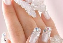 Wedding Nails / The perfect nails are key when it comes to showing off your new ring!