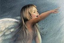 ✿ ANGELS, FAIRIES AND FAES ✿ / by Annie Cawley