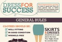 Dress For Success / Women's fashion in the workplace