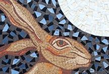 Mosaic Art - Figurative mosaics / Here's a selection of some of the figurative mosaics I have created. Hope you enjoy them as much I did creating them. Further examples of my work can be see on my website www.mosaicart.org.uk . All the displayed mosaic art is available for purchase. I also provide workshops and work to commission.