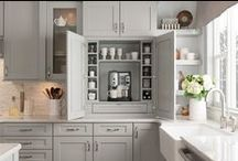 Stacked cabinetry / Ideas for stacking cabinets