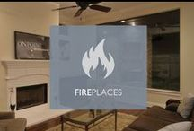 Fireplaces / On Point Custom Homes is the leading luxury custom homebuilder in Houston; their exquisite fireplaces are sure to keep families warm this holiday season!