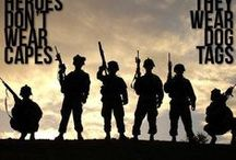 ❤ SUPPORT OUR TROOPS ❤ / by Annie Cawley