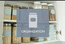 Organization / Tips and tricks to keep your home organized.
