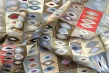 Meine Patchwork-, Appliquee-, und Quiltarbeiten / Couchdecken, Sofadecken, Bettdecken, Quilts puss-o-kram.de