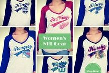 NHL Women's Two Tone / Lightweight Long Sleeve Women's Hockey Gear @sportingup.com