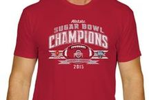 2014-2015 College Football Conference Champions / Apparel to celebrate the college football conference champions of the 2014-2015 season. Items can be purchased at www.sportingup.com. Follow us on Pinterest to receive a discount code for your order!
