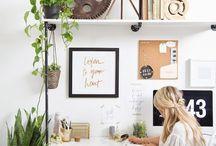 decor: HOME OFFICE / Decoração de Home Office