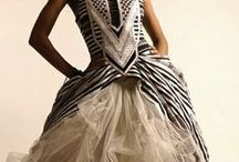 African  themed wedding gowns / Inspiration from all over Africa for your traditional wedding...
