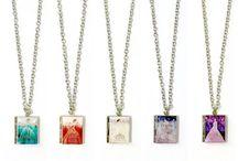 Book Locket Necklaces