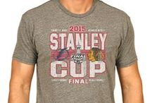 2015 Stanley Cup / Products featuring the Chicago Blackhawks and the Tampa Bay Lightning during their road to becoming the 2015 Stanley Cup Champions. Use code LIGHTNING or BLACKHAWKS at www.sportingup.com for 10% off your Stanley Cup order now!